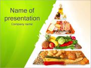Food Pyramid PowerPoint Templates