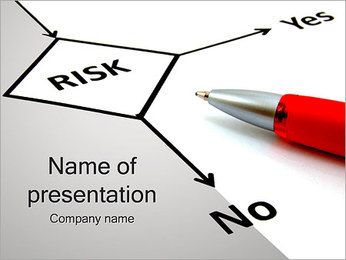 Risk Flowchart PowerPoint Template
