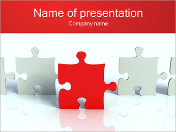 Puzzle Connect PowerPoint Template