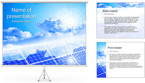 Solar Panel Powerpoint Template Solar Panels Powerpoint Template