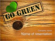 Go Green Concept PowerPoint Templates