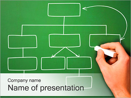 drawing flowchart powerpoint template & backgrounds id 0000002331, Powerpoint templates
