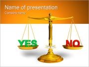 Yes or No PowerPoint Templates