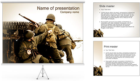 military action powerpoint template backgrounds id 0000002343. Black Bedroom Furniture Sets. Home Design Ideas