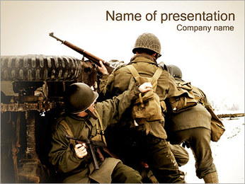 Military Action PowerPoint Template