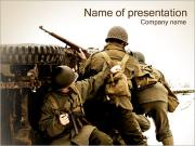 Military Action PowerPoint Templates