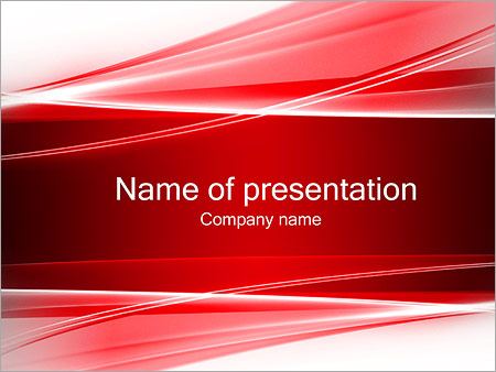 Abstract red waves powerpoint template backgrounds id 0000002344 abstract red waves powerpoint templates toneelgroepblik Image collections