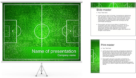 Football Field PowerPoint Template Backgrounds ID 0000002345 – Football Powerpoint Template