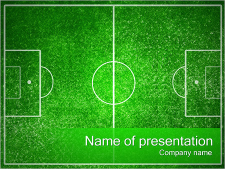Football field powerpoint template backgrounds id 0000002345 football field powerpoint templates toneelgroepblik Images