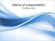Abstract Blue Composition PowerPoint Templates