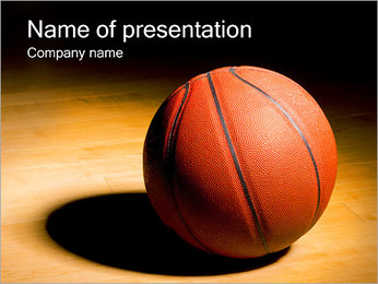 Basket Ball PowerPoint Template