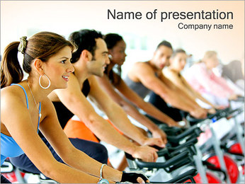 Cardio Training PowerPoint Template