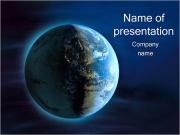 Planet from Space PowerPoint Templates