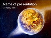 Planet Explosion PowerPoint Templates