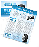 Car Wheels Newsletter Templates
