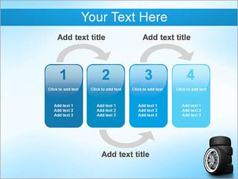 Roues de voiture Modèles des présentations  PowerPoint - Diapositives 11