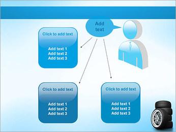 Roues de voiture Modèles des présentations  PowerPoint - Diapositives 12