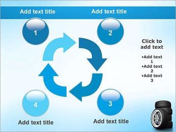 Roues de voiture Modèles des présentations  PowerPoint - Diapositives 14