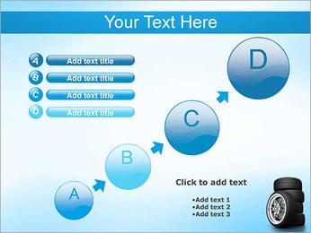 Roues de voiture Modèles des présentations  PowerPoint - Diapositives 15