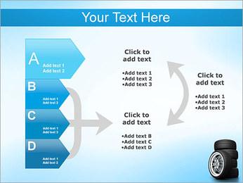 Roues de voiture Modèles des présentations  PowerPoint - Diapositives 16
