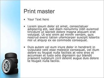 Roues de voiture Modèles des présentations  PowerPoint - Diapositives 24
