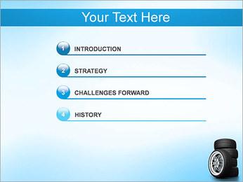 Roues de voiture Modèles des présentations  PowerPoint - Diapositives 3