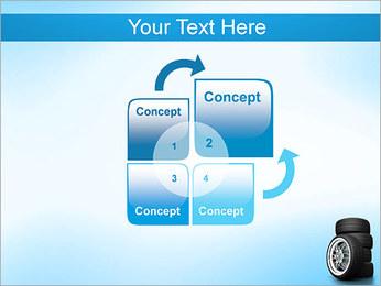 Roues de voiture Modèles des présentations  PowerPoint - Diapositives 5