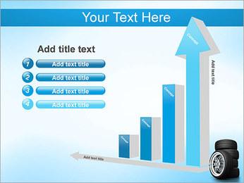 Roues de voiture Modèles des présentations  PowerPoint - Diapositives 6