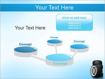 Roues de voiture Modèles des présentations  PowerPoint - Diapositives 9