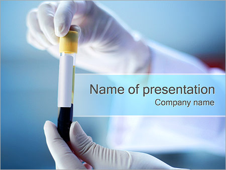 Microbiology powerpoint template smiletemplates blood test powerpoint templates toneelgroepblik Choice Image