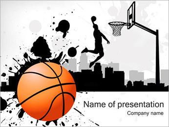 Streetball PowerPoint Template