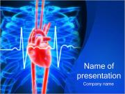Human Heart and X-ray PowerPoint Templates