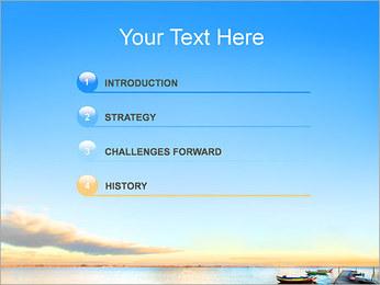 Bateaux Modèles des présentations  PowerPoint - Diapositives 3
