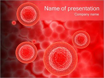 Globules rouges Modèles des présentations  PowerPoint
