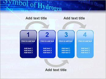 Symbole de l'hydrogène Modèles des présentations  PowerPoint - Diapositives 11