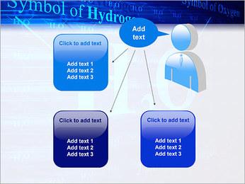 Symbole de l'hydrogène Modèles des présentations  PowerPoint - Diapositives 12