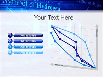 Symbole de l'hydrogène Modèles des présentations  PowerPoint - Diapositives 13