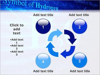 Symbole de l'hydrogène Modèles des présentations  PowerPoint - Diapositives 14