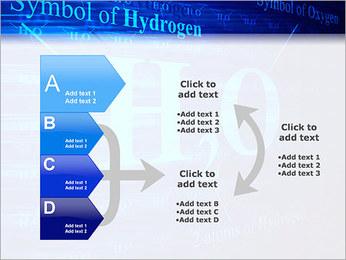 Symbole de l'hydrogène Modèles des présentations  PowerPoint - Diapositives 16