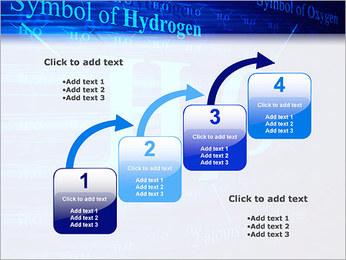 Symbole de l'hydrogène Modèles des présentations  PowerPoint - Diapositives 20