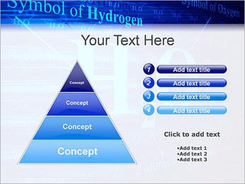 Symbole de l'hydrogène Modèles des présentations  PowerPoint - Diapositives 22