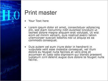 Symbole de l'hydrogène Modèles des présentations  PowerPoint - Diapositives 24