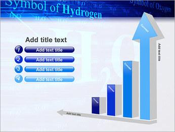 Symbole de l'hydrogène Modèles des présentations  PowerPoint - Diapositives 6