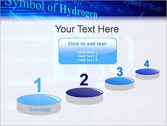 Symbole de l'hydrogène Modèles des présentations  PowerPoint - Diapositives 7