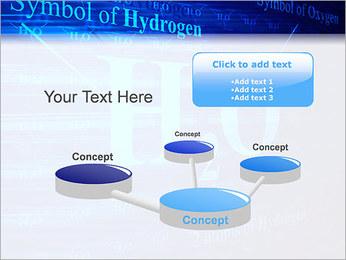 Symbole de l'hydrogène Modèles des présentations  PowerPoint - Diapositives 9
