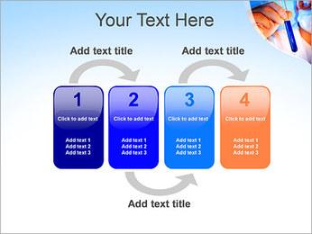 Adjoint avec le tube à essai Modèles des présentations  PowerPoint - Diapositives 11