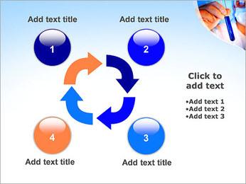 Adjoint avec le tube à essai Modèles des présentations  PowerPoint - Diapositives 14
