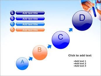 Adjoint avec le tube à essai Modèles des présentations  PowerPoint - Diapositives 15
