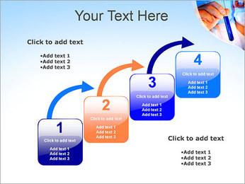 Adjoint avec le tube à essai Modèles des présentations  PowerPoint - Diapositives 20