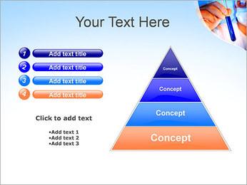 Adjoint avec le tube à essai Modèles des présentations  PowerPoint - Diapositives 22